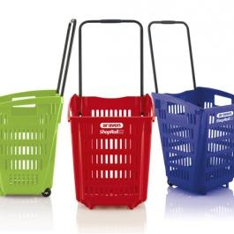 Cestas de compra de plástico